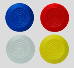 Piso Tátil Elemento Colado Polímero