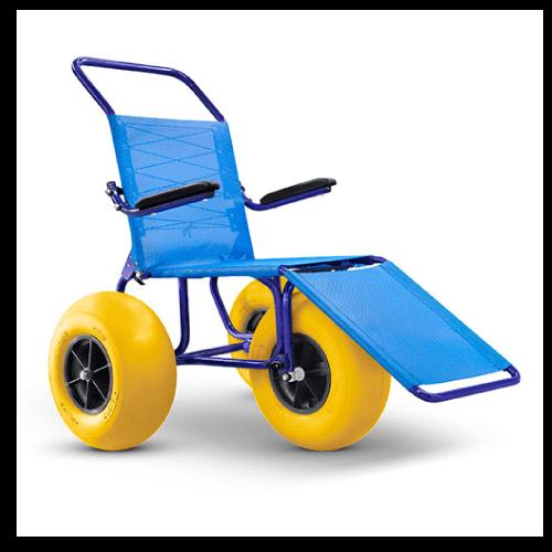 cadeira de rodas anfíbia