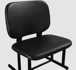 cadeira para obeso sem apoio de braços.