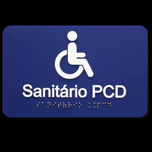 Placa de sinalização braille Acrílicoille